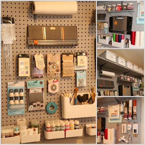 Lookie What I Did Organizing With Pegboard