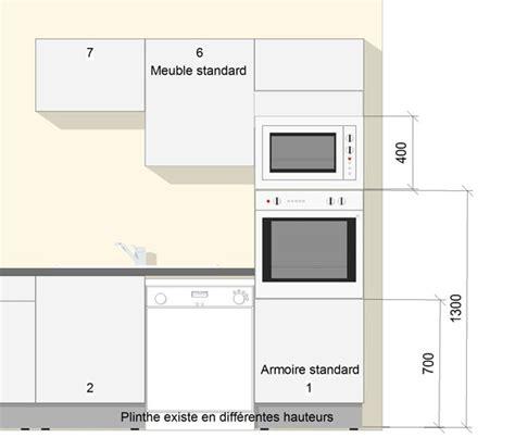 meuble de cuisine dimension mobilier design decoration
