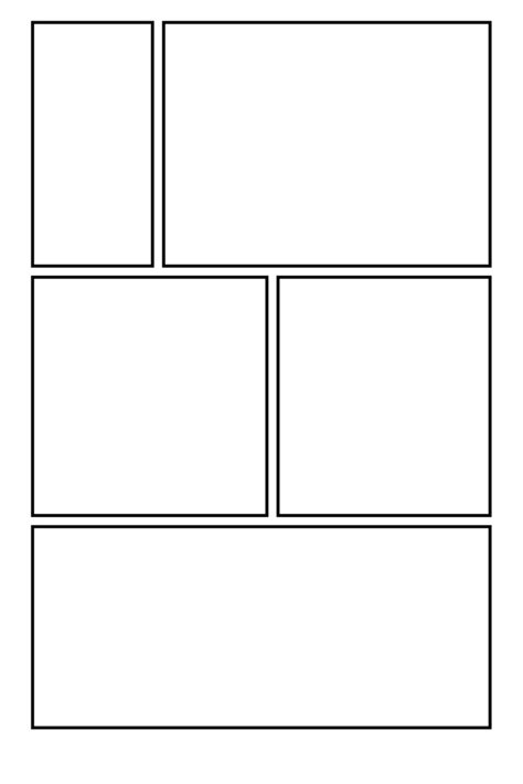 comic template pdf comic clear 11 by comic templates on deviantart