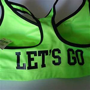 Victoria s Secret M Sports Bra Love Pink from newhorizons2 on