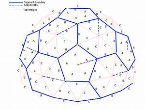 Folding geodesic dome for Geodesic dome template