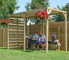 timber garden pergola gardensite co uk