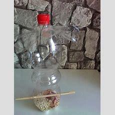 Vogelfutterplatz Aus Pet Flasche Herstellen Bild 2