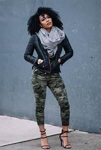 Best 25+ Black women fashion ideas on Pinterest | Fitted denim shirt Denim fashion and Black ...