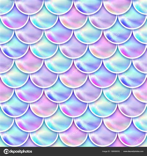 Mermaid Scales Background Sereia Hologr 225 Fica Escalas Fundo Fotografias De Stock