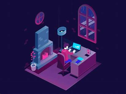 Gamer Animation Dribbble Animated Gamers Editing Performanta