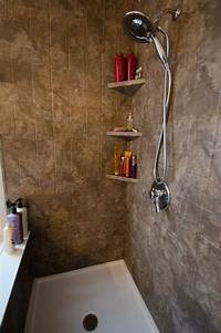 great triangle corner shower 78 Best images about Re-Bath Remodels on Pinterest | Corner shelves, Dual shower heads and Stone ...