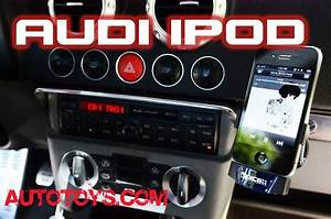 Audi Tt Ipod Dice Silverline  With Dice Cradle And Concert Radio- Autotoys Com