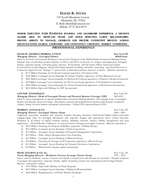 Stock Pitch Resume by Dbs Resume 2015