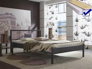 Lattenrost Für Metallbett : metallbett komplett bett bente lattenrost matratze varianten wohnbereiche schlafzimmer ~ Markanthonyermac.com Haus und Dekorationen