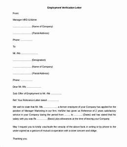 Employee Referral Form Template Word 11 Free Employment Letter Template Doc Pdf Free