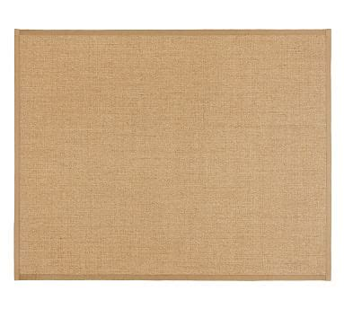 Rugs A Bound by Color Bound Sisal Rug Chino Pottery Barn
