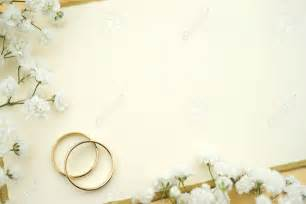 blank wedding invitations blank wedding invitation stock photo ivory wedding invite blank card with gold rings and
