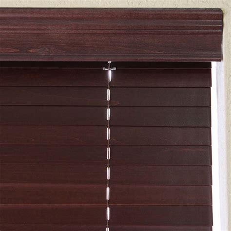 premier  cordless faux wood blinds  selectblindscom