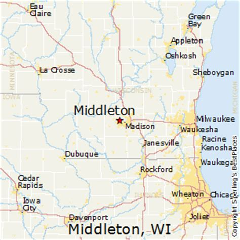 places    middleton wisconsin