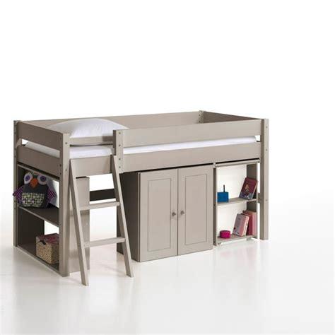 lit mezzanine combin bureau lit combine bureau topiwall