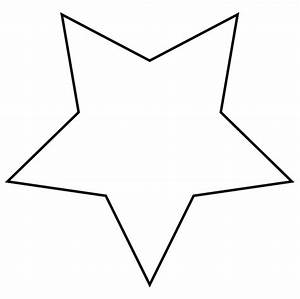 Outline of a star clipart for | Clipart Panda - Free ...