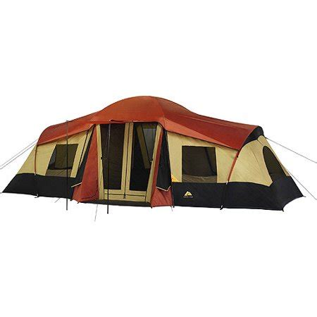 3 room cabin tent ozark trail 3 room xl vacation lodge cing tent