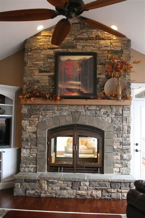 inside outside fireplace transform your spacious space with a sided