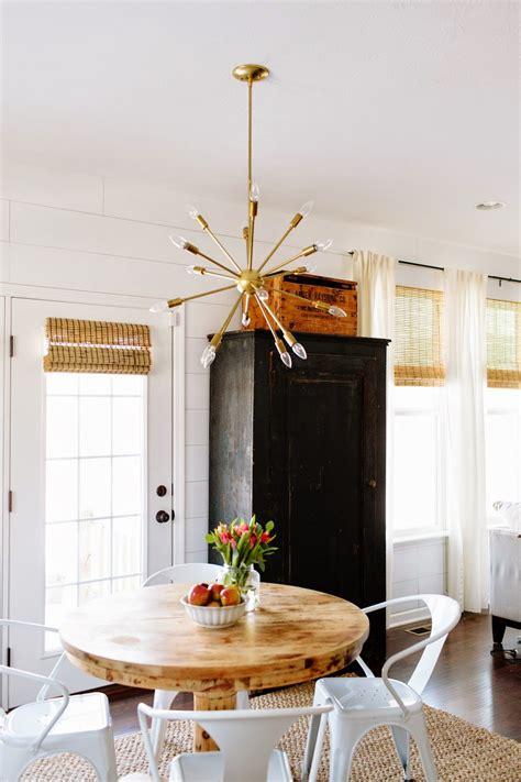 dining room inspiration sputnik chandeliers  girl named pj