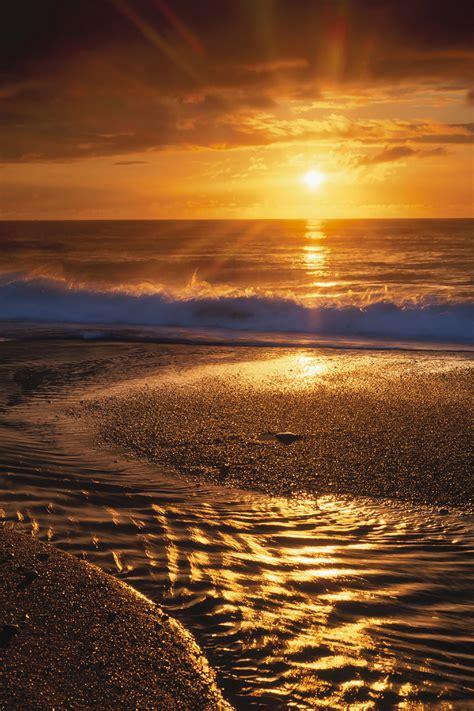 Beach Sunset Printed Vinyl Backdrop Savage Universal