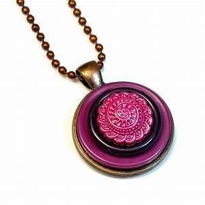 Blukatkraft  Handmade Button Jewelry  Statement Necklaces