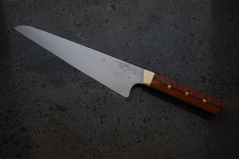 handmade japanese kitchen knives japanese style gyuto kitchen knife the cupboard