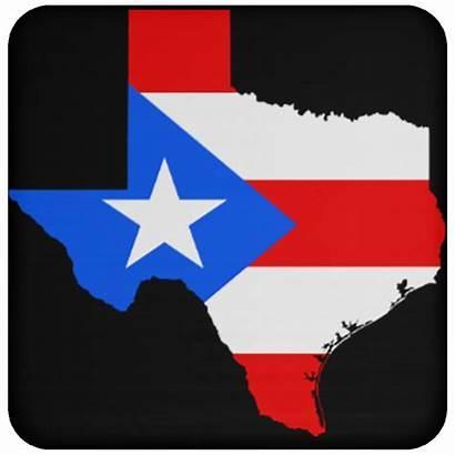 Texas Puerto Rican Coaster