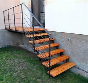 Escalier Exterieur Metal : escaliers contemporains et design en alsace palmarini ~ Voncanada.com Idées de Décoration