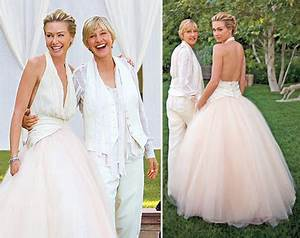 post a pic of your favorite celebrity wedding dress With portia de rossi wedding dress