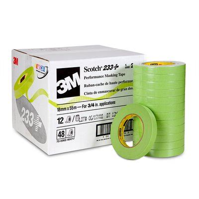 3m government solutions scotch 174 performance masking 233 26334 18 mm x 55 m 48 per