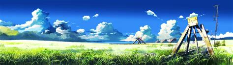 Dual Screen Wallpaper Anime - anime dual monitor wallpaper 46 images