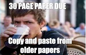 Lazy college senior _ copy and paste | Lazy College Senior ...