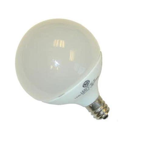 ge 1 8w 120v e12 g16 5 led white light bulb bulbamerica