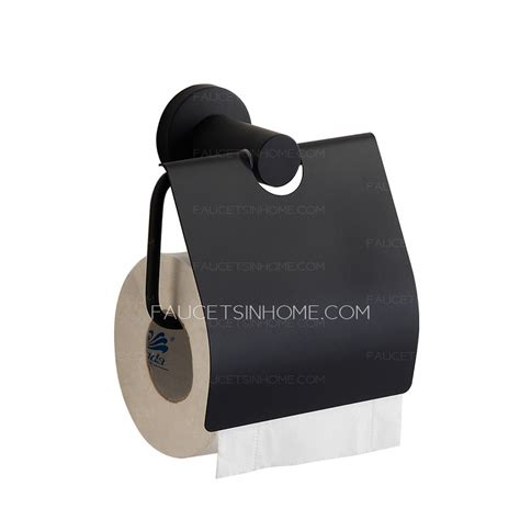 contemporary black painting stainless steel toilet paper holders