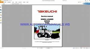 Takeuchi Tw60 Wheel Loader Service Manual 08