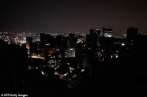 venezuela suffers  power cut  leaves