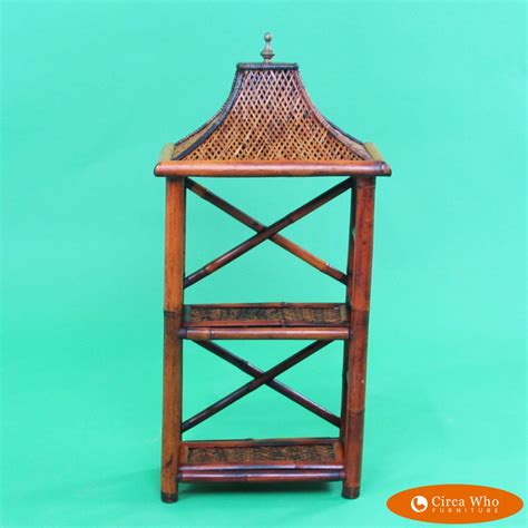 Small Etagere by Small Pagoda Etagere Circa Who