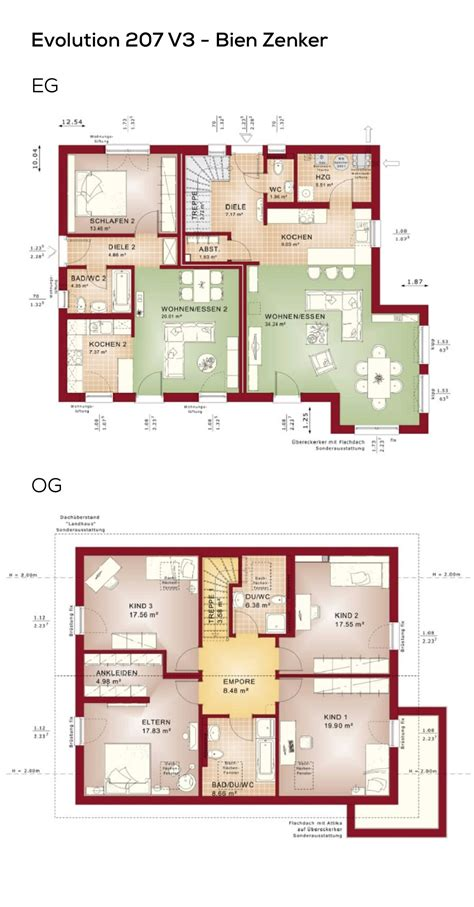 Einfamilienhaus Modern Grundriss by Toskana Haus Grundriss Mit Erker Wohn Design