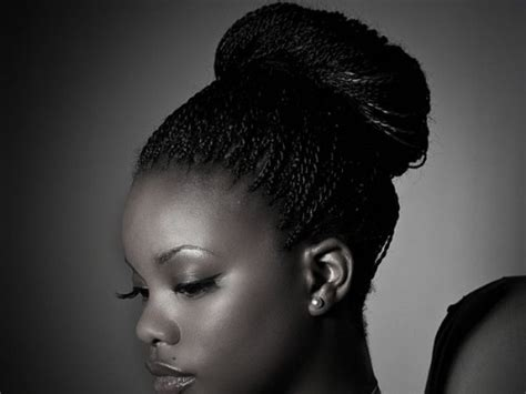 40 Micro Braids Hairstyles