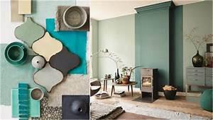 Peinture Vert De Gris : tendance couleur int rieur 2017 inspirations d coratives ~ Melissatoandfro.com Idées de Décoration