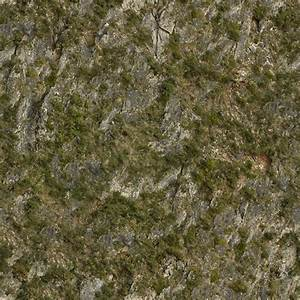 RockGrassy0051 - Free Background Texture - rock cliffs ...