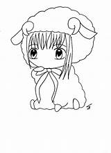 Diaper Anime Coloring sketch template