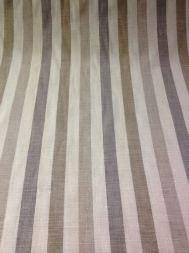 cotton curtain fabric beige cream taupe grey stripe pattern pattern curtains cotton