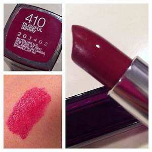 Maybelline Blissful Berry | Beauty & Hair (products ...