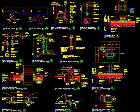 details  air conditioning dwg detail  autocad