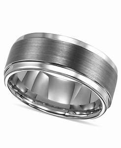 Triton Men39s Ring Tungsten Carbide Comfort Fit Wedding