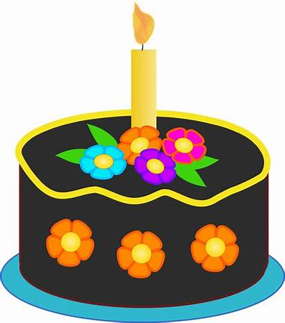 Cake Birthday Candles Clipart Lots Clip Clipartmag