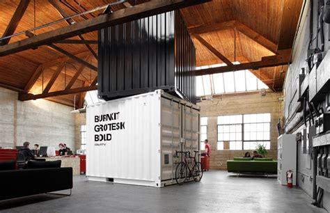 container bureau location shipping container retail design
