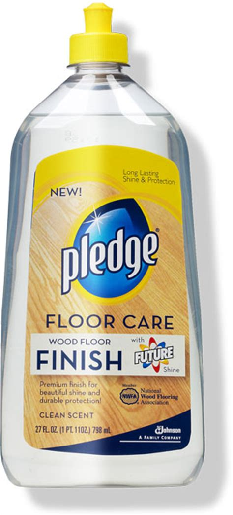 pledge floor care finish ingredients cpid